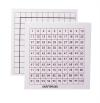 SMALL NUMBER SQUARES PACK OF 10