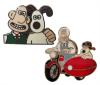 WALLACE AND GROMIT PIN BADGE (FRIENDS)