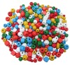 WOODEN BEADS 200g. PACK