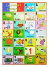 FRENCH ALPHABET CARD