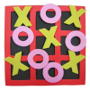 FOAM NOUGHTS AND CROSSES SET