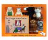 PUPPETS & BOOK SET - THE GINGERBREAD MAN