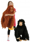 LARGE PRIMATE PUPPETS