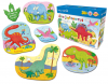 DINO JIGOSAWRUS SET OF 8 PUZZLES