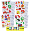 MAGNETIC STORIES SET OF 4 WITH FREE STICKERS
