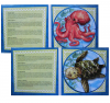 MAGNETIC WILDLIFE ROUND SEALIFE PUZZLE
