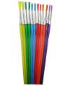 ECONOMY PAINT BRUSHES SET OF 12