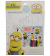 MINIONS COLOURING SET