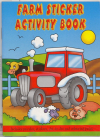 FARM STICKER ACTIVITY BOOK