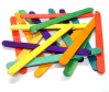 COLOURED LOLLYSTICKS PACK