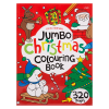 CHRISTMAS JUMBO COLOURING BOOK