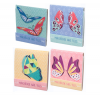 BUTTERFLY MATCHBOOK NAIL FILE SET