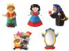 FINGER PUPPETS - SET OF 5 - SNOW WHITE