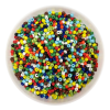 GLASS BEADS 50G BASIC COLOURS