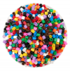 PLASTIC TUBE BEADS 50G