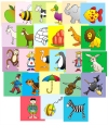 INITIAL SOUNDS PICTURE CARDS - LARGE