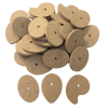 WOODEN CAMS PACK OF 30