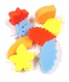 FOAM LEAF SHAPES SET OF 8
