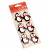 GLITTER STICKERS - PENGUIN