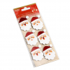 GLITTER STICKERS - FATHER CHRISTMAS