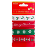 TRADITIONAL CHRISTMAS RIBBONS SET