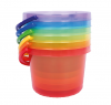 TRANSLUCENT COLOUR BUCKETS SET