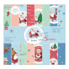 AT HOME WITH SANTA PAPER PACK