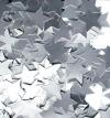 GUMMED PAPER STARS SMALL SILVER