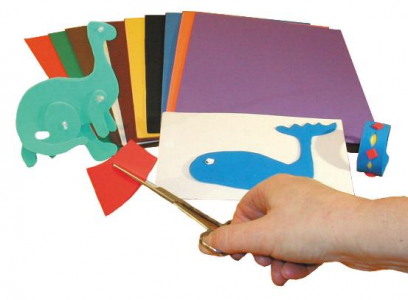 Craft foam pack of 10 sheets for How to cut thick craft foam